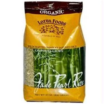 Lotus Foods B31152 Lotus Foods Organic Jade Pearl Rice -6x15oz