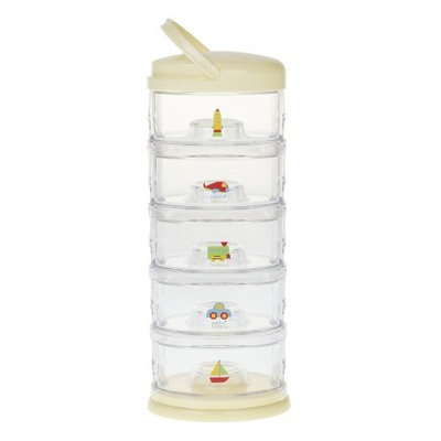 Innobaby Five Tier Packin' Smart Storage System, Lemon Frosting (Discontinued by Manufacturer)