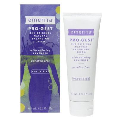 Emerita Pro-Gest Natural Balancing Cream, Lavender, 4 oz