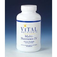Vital Nutrients - Multi-Nutrients IV Citrate Form 180 caps