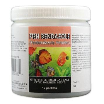 Thomas Labs Fish Bendazole 250mg Fenbendazole Powder (12 packets)