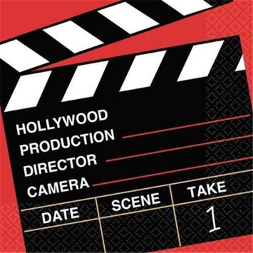 Director's Cut Luncheon Napkins Pkg/36