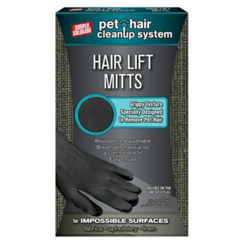 Simple Solutions Pet Hair Cleanup Mitts