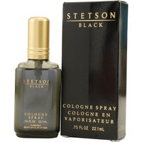 Stetson Black by Coty Cologne Spray for Men, 0.75 Ounce