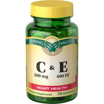 Spring Valley C & E Vitamin C 500mg