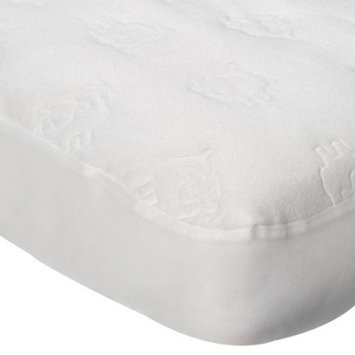 Fitted Crib Pad- White by Circo