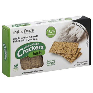 Shelley Annes Crackers 4ea Pack of 12