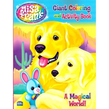 Lisa Frank Giant Coloring and Activity Book ~ A Magical World! (96 Pages) (Puppy Cover)