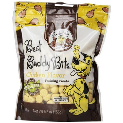 Exclusively Dog Exclusively Pet Best Buddy Bits-Chicken Flavor, 5-1/2-Ounce Package