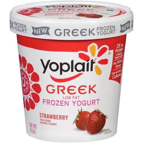 Yoplait® Low Fat Strawberry Frozen Greek Yogurt
