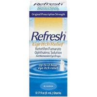 Refresh: Antihistamine Eye Drops Eye Itch Relief, 0.17 fl oz