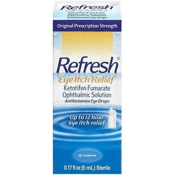 Refresh: Antihistamine Eye Drops Eye Itch Relief, 0.17 fl oz