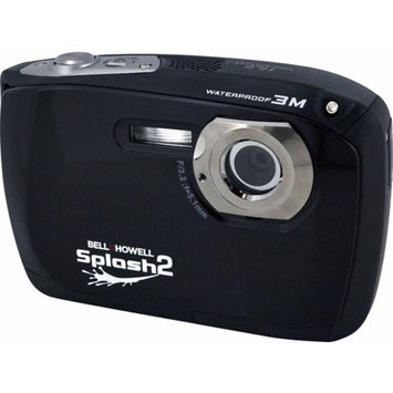 Bell & Howell Bell+Howell Black Splash2 WP16 Digital Camera with 16 Megapixels and 4x Digital Zoom