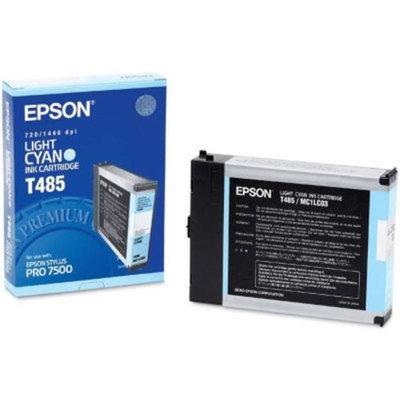 Epson OEM T485011 110ml Light Cyan Ink Cartridge