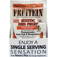 Fruitein Exotic Red Fruit Shake Nature's Plus 8 Packet