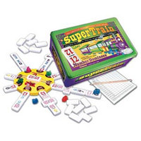 SuperTrain Dominoes Game Ages 6+, 1 ea