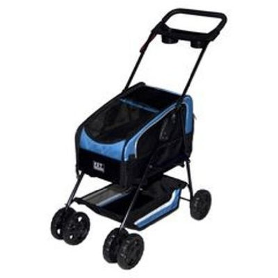 Pet Gear Inc. Pet Gear Travel System ll Pet Stroller for Cats and Dogs, Blue
