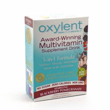 Oxylent - Oxygenating Multivitamin Drink Sparkling Blackberry Pomegranate - 7 Packets
