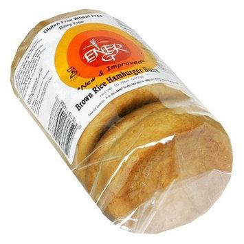 Ener-G Foods Brown Rice Hamburger Buns, 7.76-Ounce Units (Pack of 6)