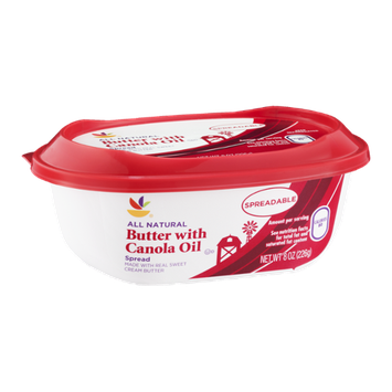 Ahold Butter with Canola Oil Spread All Natural