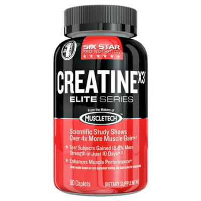 Six Star Professional Strength Creatine x3 Elite Series