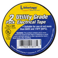 Intertape Utility Grade Electrical Tape - 2 -Pack