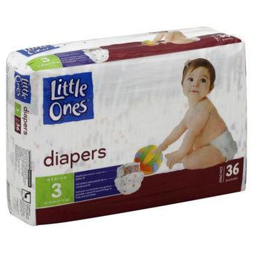 Kmart Corporation Little Ones Diapers, Medium, Size 3 (16 28 lb), Jumbo Pack, 36 diapers - KMART CORPORATION