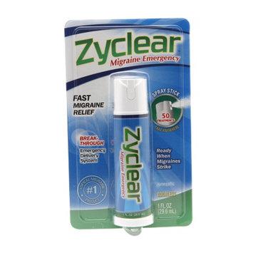 Zyclear Migraine Emergency Spray Stick, 1 fl oz