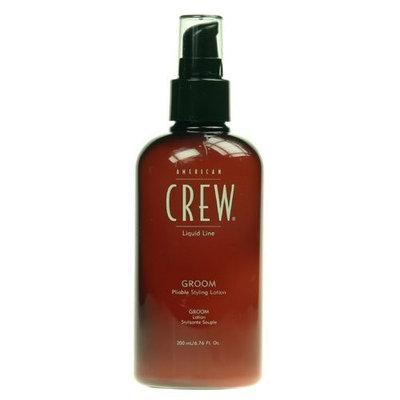 American Crew Liquid Line Groom Pliable Hair Styling Lotion Unisex, 6.76 Ounce