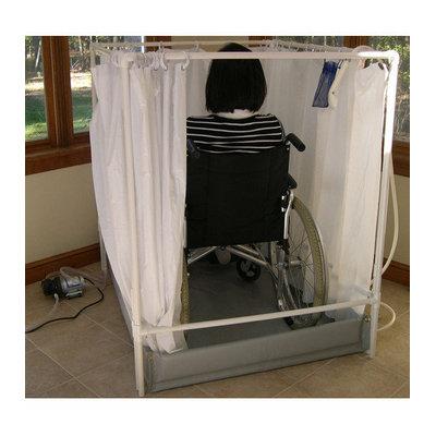 LiteShower Wheelchair Accessible Portable Shower Stall Standard Model