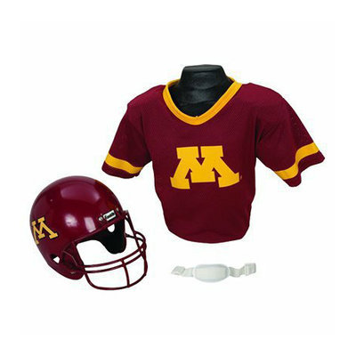 Franklin sports Minnesota Helmet/Jersey set - OSFM ages 5-9