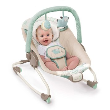 Ingenuity InJoy Infant Rocking Seat, Lullaby Lamb