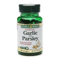 Nature's Bounty Odorless Garlic and Parsley