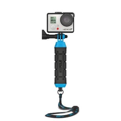 GoPole Grenade Compact Hand Grip for GoPro HERO Cameras - Black/Blue