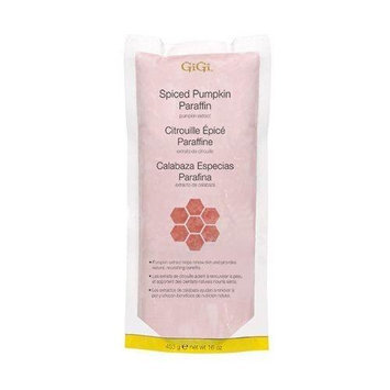 GiGi Skin and Nail Treatment Paraffin - Spiced Pumpkin with Pumpkin Extracts and Vitamin E 453g/16oz