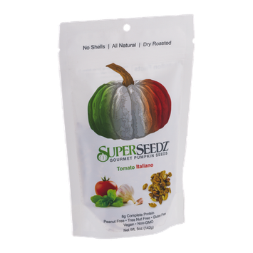SuperSeedz Gourmet Pumpkin Seeds Tomato Italiano