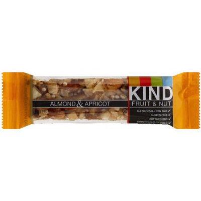 KIND Almond & Apricot Fruit & Nut Bar, 1.4 oz, (Pack of 12)