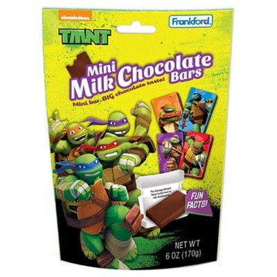 Frankford TMNT Mini Bars Standup Bag Milk Chocolate 6oz