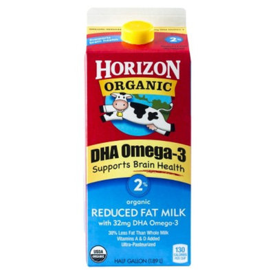 Horizon Organic 2% Milk with DHA Omega-3 64 oz