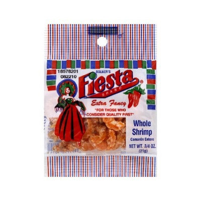 Fiesta Whole Shrimp Bag, 0.75-Ounce (Pack of 12)