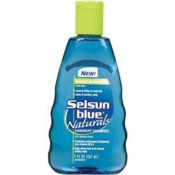 Selsun Blue Naturals Anti Dandruff Hair Shampoo Island Breeze 7 oz.