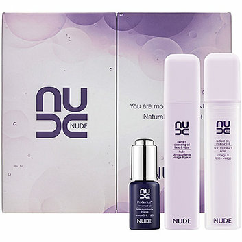 NUDE Skincare You Are More Beautiful Nude Natural Radiance Set 0.12 oz