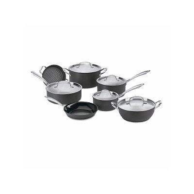 Cuisinart GG-12 GreenGourmet Hard Anodized Non-stick 12-piece Cookware Set