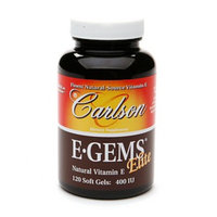 Carlson E-Gems Elite Natural Vitamin E 400 IU