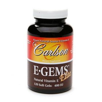 Carlson E-Gems Plus Natural Vitamin E 400 IU