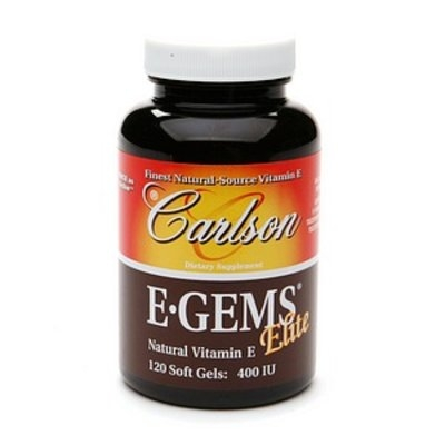Carlson E-Gems Plus Natural Vitamin E 400 IU