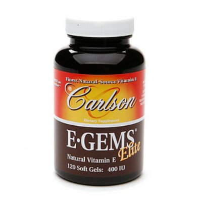 Carlson E-Gems Natural Vitamin E 400 IU