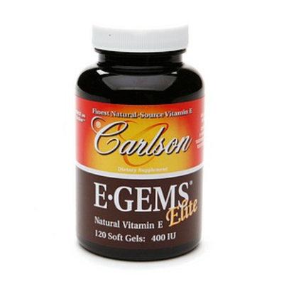 Carlson E-Gems Natural Vitamin E 400 IU