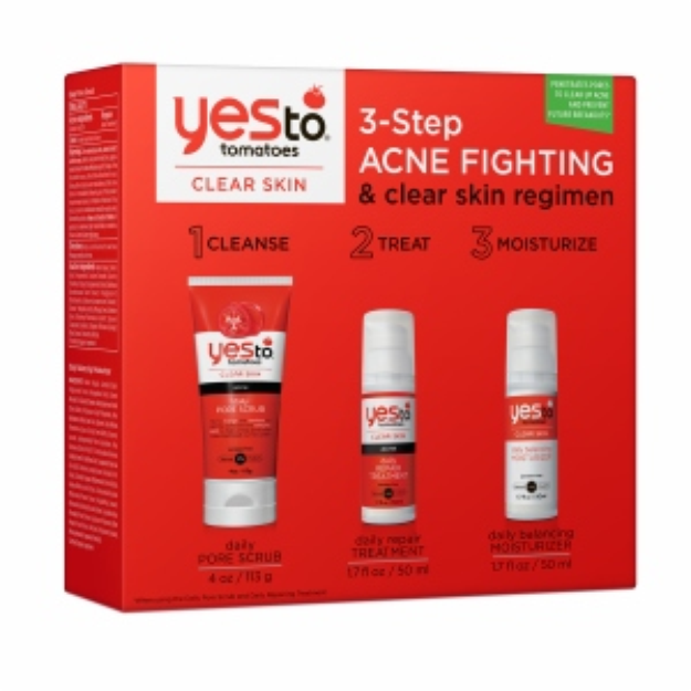 Yes To Tomatoes Yes to Tomatoes 3-Step Acne Fighting and Clear Regimen Kit, 1 ea