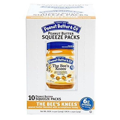 Peanut Butter & Co. Honey, The Bee's Knees Squeeze Packs, 1.15-Ounce Pouches (Pack of 20)